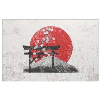 Bandeira e símbolos de Japão ID153 Tecido
