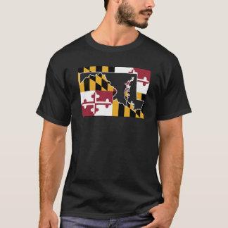 Bandeira/estado de Maryland (grande) Camiseta