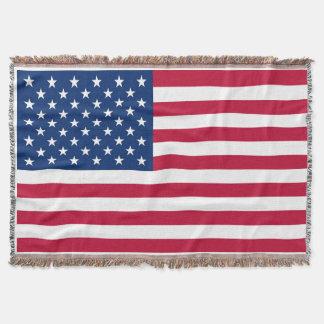 Bandeira EUA americanos de América Manta