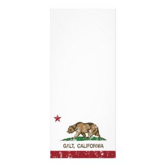 Bandeira Galt do estado de Califórnia Convites Personalizados