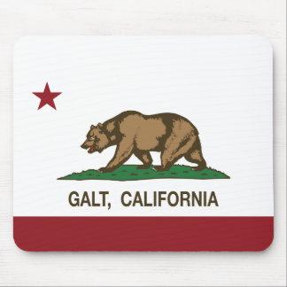 Bandeira Galt do estado de Califórnia Mouse Pad