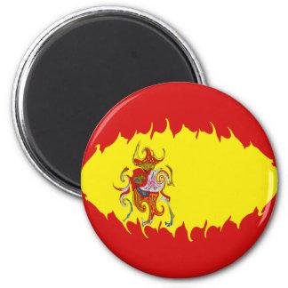 Bandeira Gnarly da espanha Imã