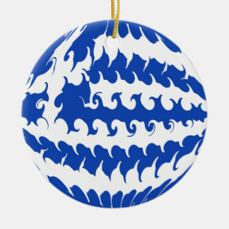 Bandeira Gnarly da piscina Enfeites De Natal