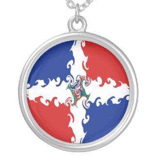 Bandeira Gnarly da República Dominicana Pingente