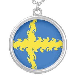 Bandeira Gnarly da suecia Bijuterias Personalizadas