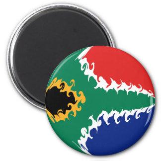 Bandeira Gnarly de África do Sul Ima De Geladeira