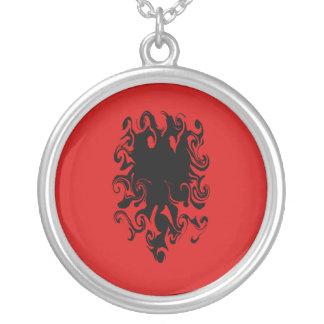 Bandeira Gnarly de Albânia Bijuteria