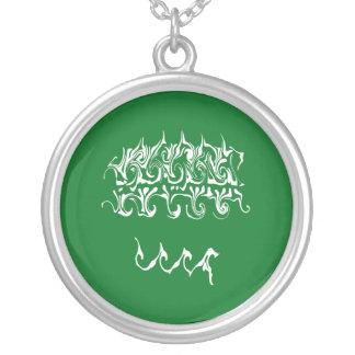 Bandeira Gnarly de Arábia Saudita Bijuterias Personalizadas