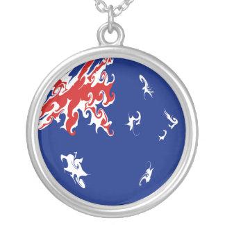 Bandeira Gnarly de Austrália Colar Personalizado