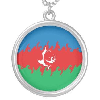 Bandeira Gnarly de Azerbaijan Colares