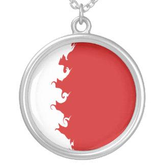 Bandeira Gnarly de Barém Colar