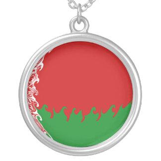 Bandeira Gnarly de Belarus Bijuteria Personalizada