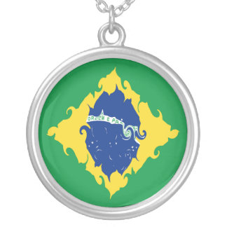 Bandeira Gnarly de Brasil Bijuterias Personalizadas