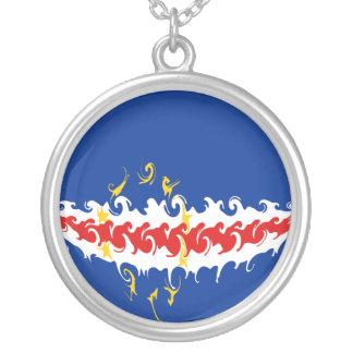 Bandeira Gnarly de Cabo Verde Colares Personalizados