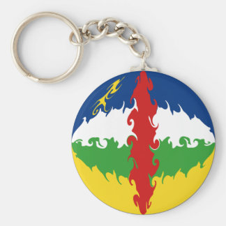 Bandeira Gnarly de Centrafrique Chaveiros
