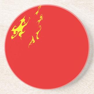 Bandeira Gnarly de China Porta Copos De Arenito