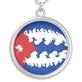 Bandeira Gnarly de Cuba Colar Personalizado