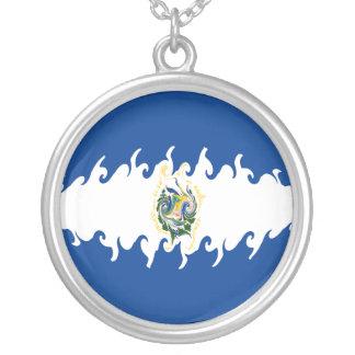 Bandeira Gnarly de El Salvador Bijuterias Personalizadas