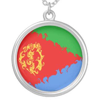 Bandeira Gnarly de Eritrea Colar