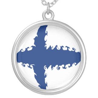 Bandeira Gnarly de Finlandia Pingente