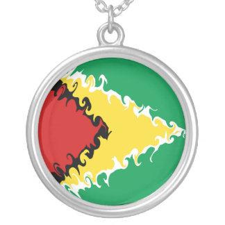 Bandeira Gnarly de Guyana Bijuterias Personalizadas