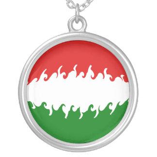 Bandeira Gnarly de Hungria Bijuteria