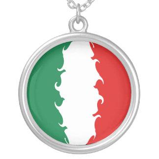 Bandeira Gnarly de Italia Colar