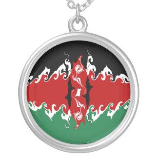 Bandeira Gnarly de Kenya Bijuterias Personalizadas