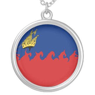 Bandeira Gnarly de Liechtenstein Bijuteria Personalizada