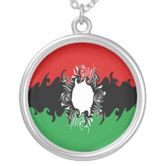 Bandeira Gnarly de Malawi Colar