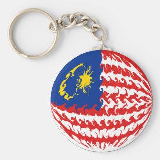 Bandeira Gnarly de Malaysia Chaveiro
