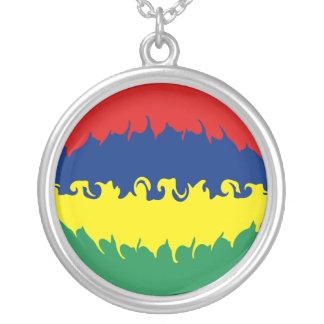 Bandeira Gnarly de Maurícia Bijuterias Personalizadas
