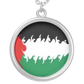 Bandeira Gnarly de Palestina Bijuteria