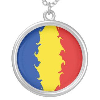 Bandeira Gnarly de Romania Bijuteria