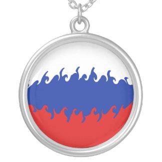 Bandeira Gnarly de Rússia Bijuteria