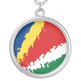 Bandeira Gnarly de Seychelles Bijuteria Personalizada