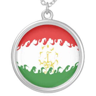 Bandeira Gnarly de Tajikistan Bijuteria Personalizada