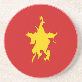 Bandeira Gnarly de Vietnam Porta Copos