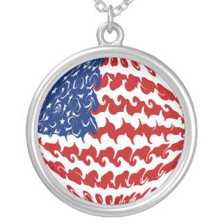 Bandeira Gnarly dos Estados Unidos Pingente