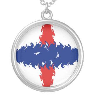 Bandeira Gnarly holandesa de Antilhas Bijuterias