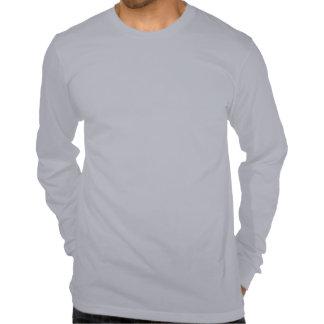 Bandeira grande branca do Gulch de Galt e azul Camiseta