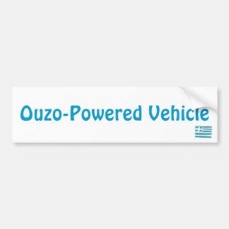 Bandeira grega, veículo Ouzo-Psto Adesivo Para Carro