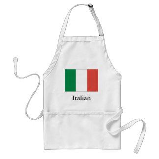 bandeira italiana avental