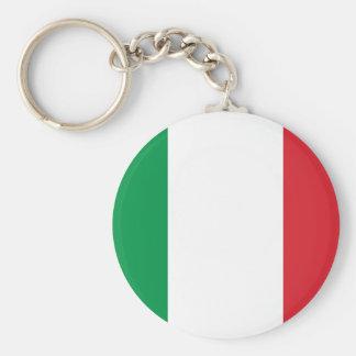 Bandeira italiana chaveiro