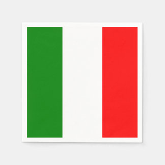 Bandeira italiana do guardanapo do d'Italia de