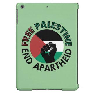 Bandeira livre de Palestina do Apartheid do fim de Capa Para iPad Air