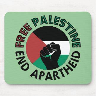 Bandeira livre de Palestina do Apartheid do fim de Mouse Pad