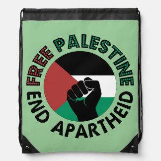 Bandeira livre de Palestina do Apartheid do fim de Backpacks