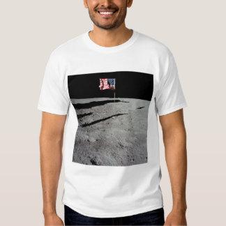 Bandeira na lua, Apollo 11, NASA Camisetas