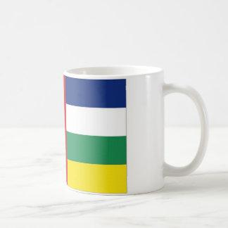 Bandeira nacional de Central African Republic Caneca De Café